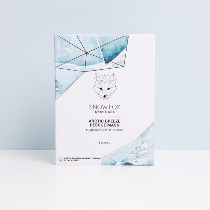 SNOW FOX SHEET MASK - ARCTIC BREEZE RESCUE 5ST