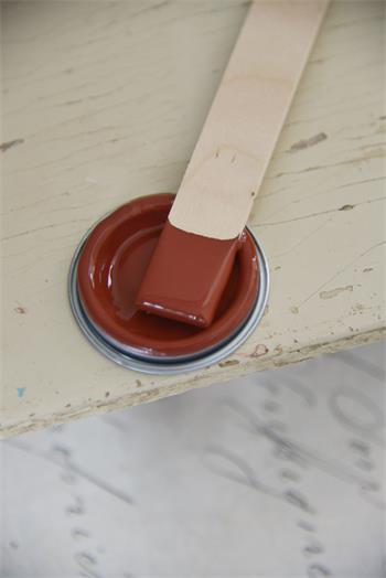 Kalkfärg Rusty Red 100 ml