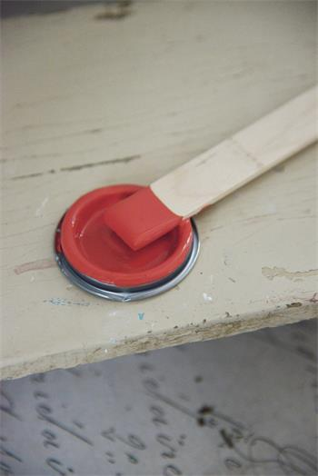 Kalkfärg Warm Red 700 ml