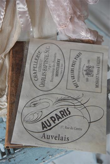 Dekorationspapper 3 handgjort papper