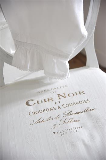 "Schablon ""Cuir Noir"", flergångs"