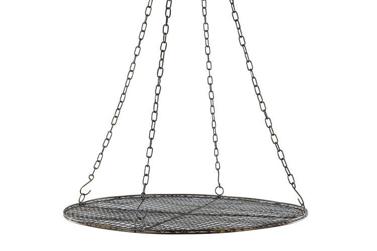 Stor Kryddtork  i metall med nät