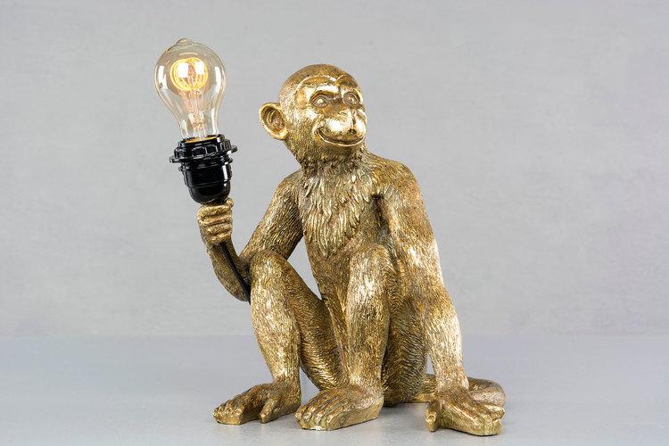 Lampa Apa Guld