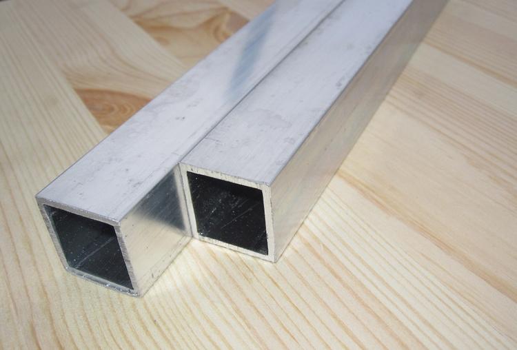ALUMINIUM FYRKANTSRÖR 20*20*1,5mm  EN AW-6063-T6
