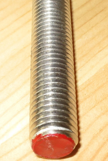 GÄNGSTÅNG ROSTFRI A4 M4*1000