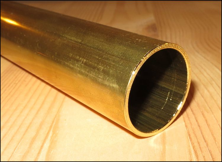 MÄSSINGSRÖR 25*1mm CW508L - SS5150-04