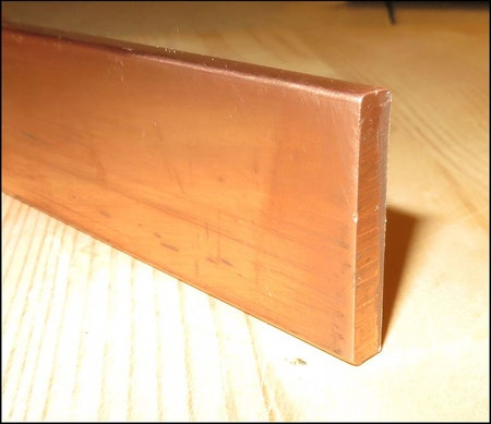 KOPPAR PLATTSTÅNG  EN CW008A SS 5011 25*3mm