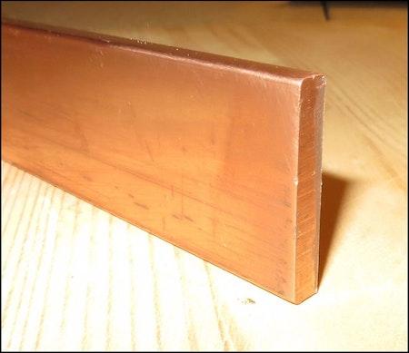 KOPPAR PLATTSTÅNG  EN CW008A SS 5011 30*3mm
