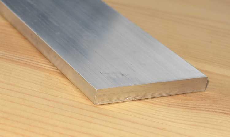ALUMINIUM PLATTSTÅNG 100*10mm EN-AW 6082-T6