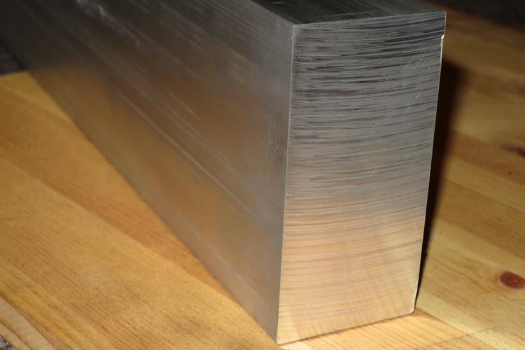 ALUMINIUM FYRKANTSTÅNG  100*50mm  EN-AW 6082-T6
