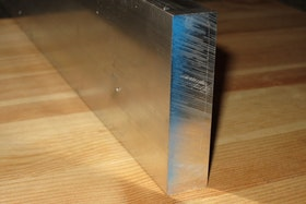 ALUMINIUM FYRKANTSSTÅNG  150*10mm  EN-AW 6082-T6