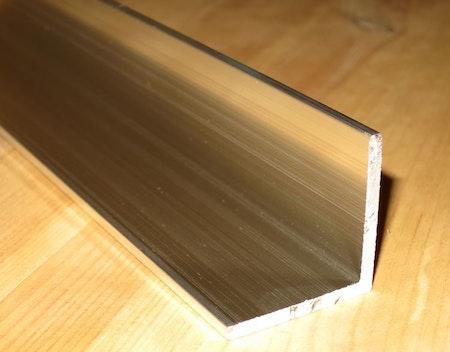 ALUMINIUM VINKELPROFIL 15*15*3mm EN AW-6063-T6