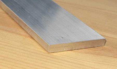 ALUMINIUM PLATTSTÅNG  50*10mm  EN-AW 6082-T6