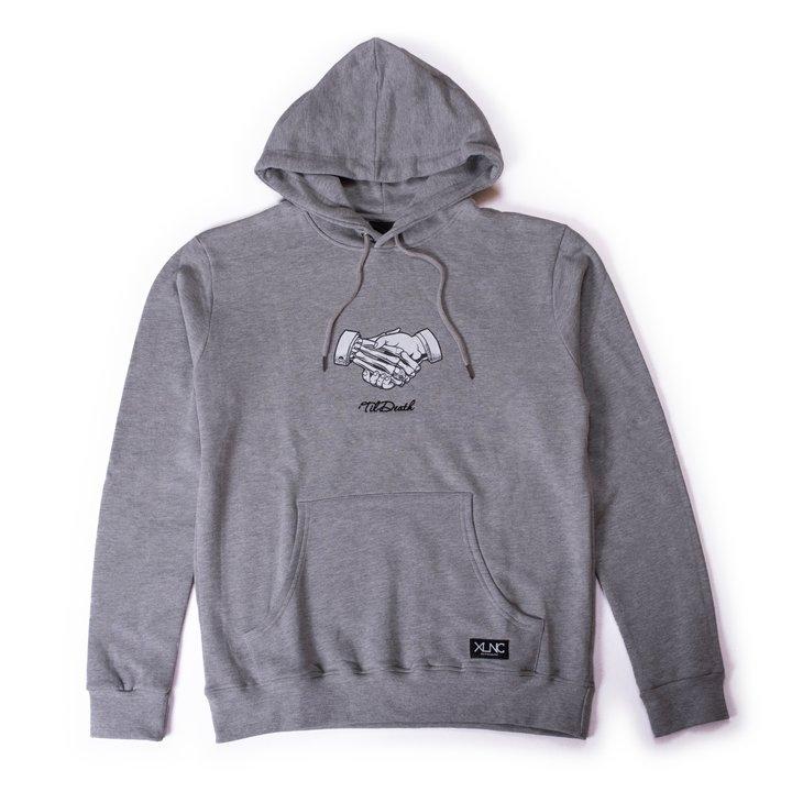 "XLNC - ""'Til Death"" pullover hoodie"