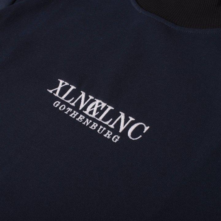 "XLNC - ""Sync"" raised collar sweatshirt"