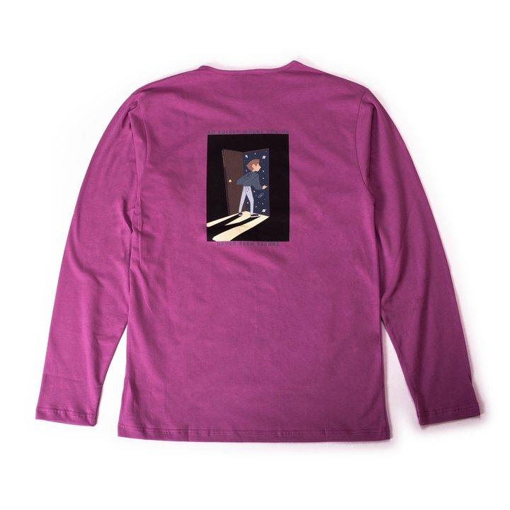 "XLNC - ""Go Boldly"" långärmad t-shirt"