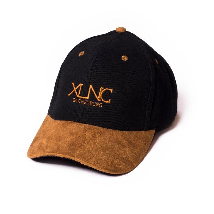"XLNC - ""Fine Suede"" Keps - Svart"