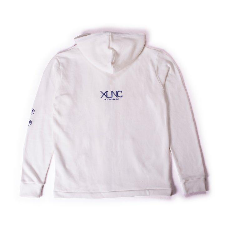 """XLNC - """"Stamped"""" zip hoodie"""