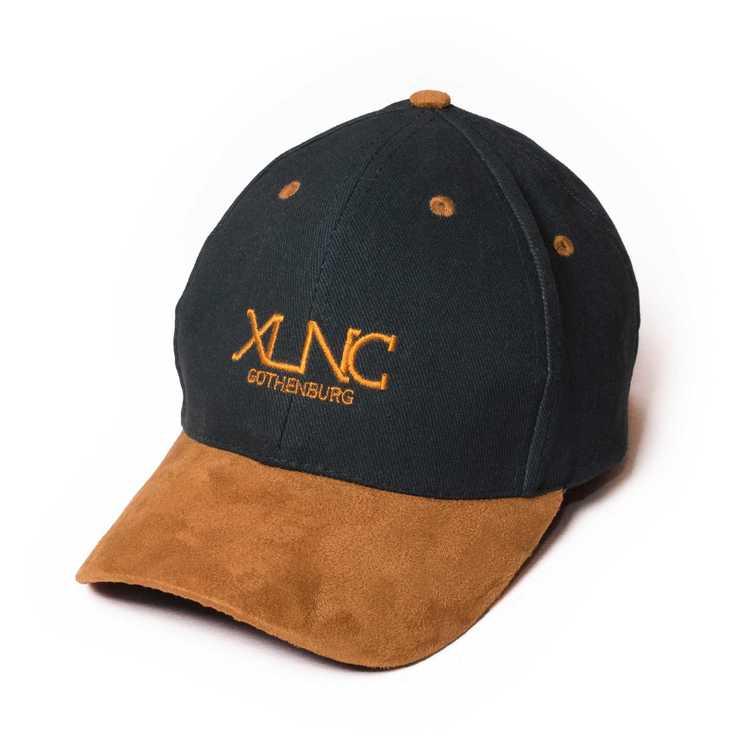 "XLNC - ""Fine Suede"" keps grön"