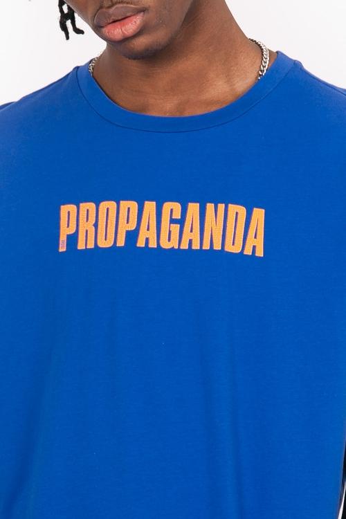 Sixth June - Propaganda Neon Oversize T-Shirt - Blå