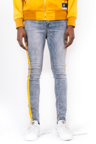 Sixth June - Yellow bands jeans - Gul tapning