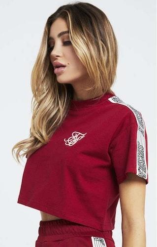 SikSilk - Runner Kort T-shirt - Röd
