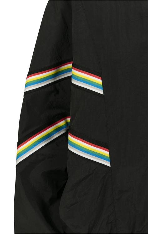 URBAN CLASSICS - Multicolor Ribbon Batwing Windbreaker