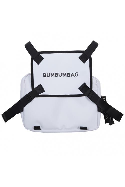 Bumbumbag - Bucket Chest Bag White Chocolate - Vit