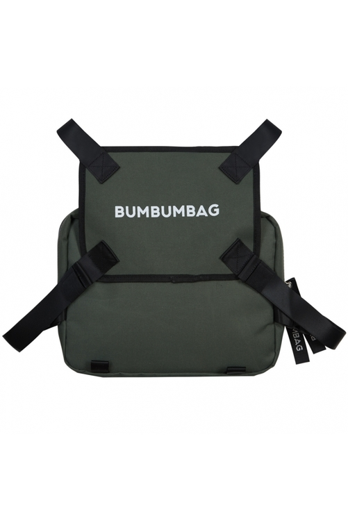 Bumbumbag - Bucket Chest Bag Sweety Kiwi - Militärgrön