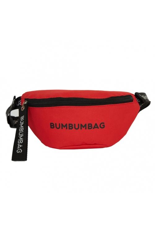 Bumbumbag - Sundae Bumbag Spicy Strawberry med text - Röd