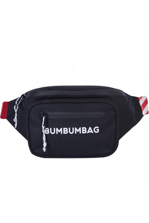 Bumbumbag - Milkshake GPS Bumbag Intense Brownie Red - Svartröd