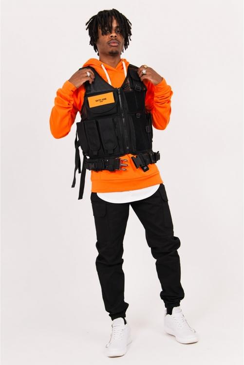 Sixth June - Propaganda Pockets Tactical Vest - Svart - One Size