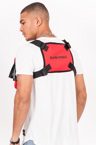 Bumbumbag - Bucket Chest Bag Spicy Strawberry - Röd