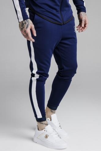 SikSilk - Athlete Track Pants – Marinblå