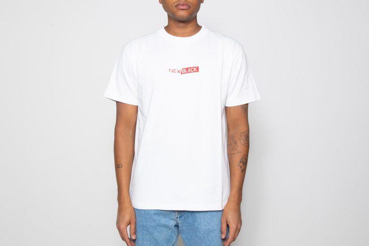 New Black - OG Logo T-shirt - vit