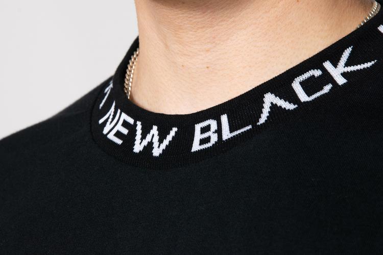 New Black - Ringo L/S Tee - Svart