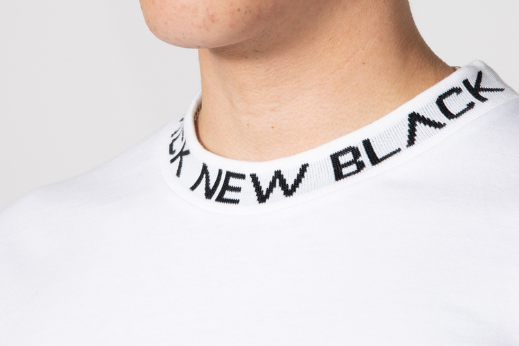 New Black - Ringo L/S Tee - Vit
