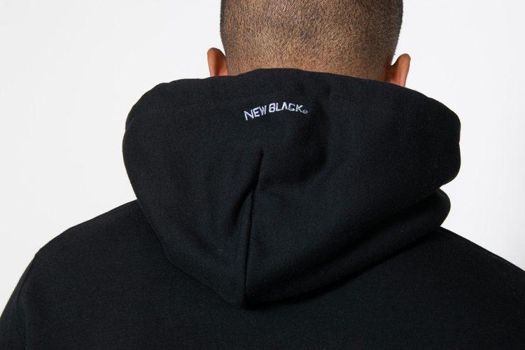New Black - Lilscape logo hood - Svart