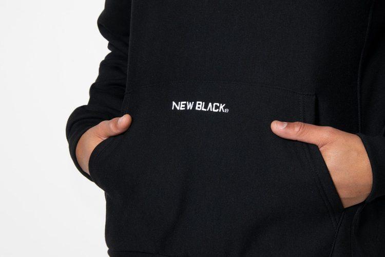 New Black - KANGO hood - Svart