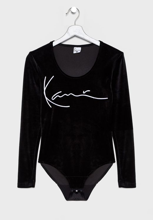 KARL KANI - KK Body Signature Stripe Body - svart