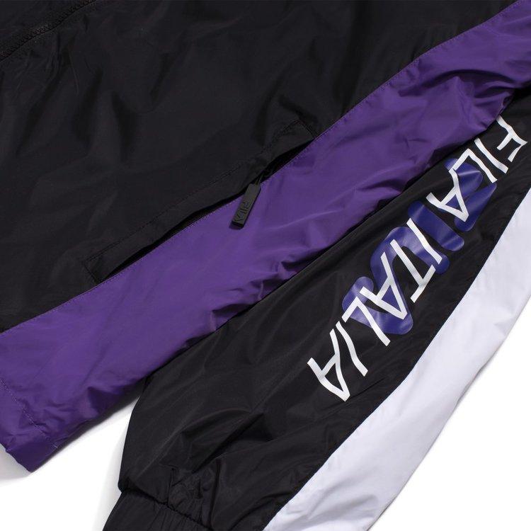 FILA - CAPPY CLUB CHAOS Woven Jacka - svart / vit / lila