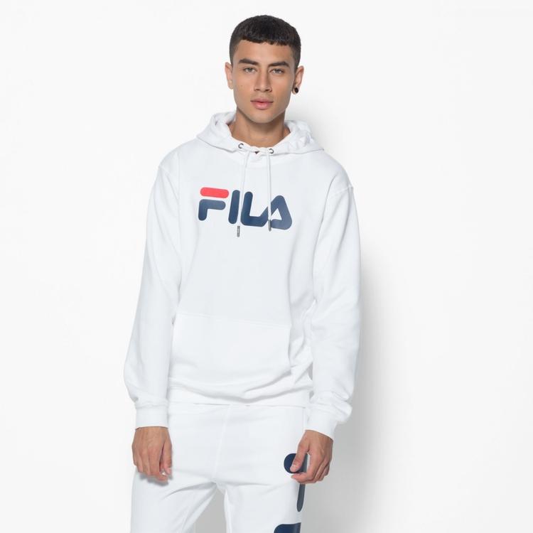 FILA - PURE Basic Hoodie - vit (unisex)