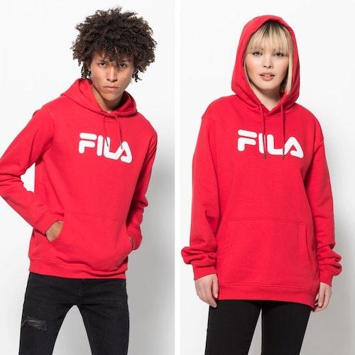 FILA - PURE Basic Hoodie - röd (unisex)
