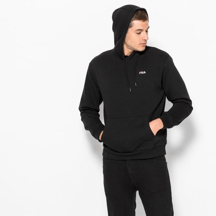FILA - EDISON Essential Basics Hoodie - Svart