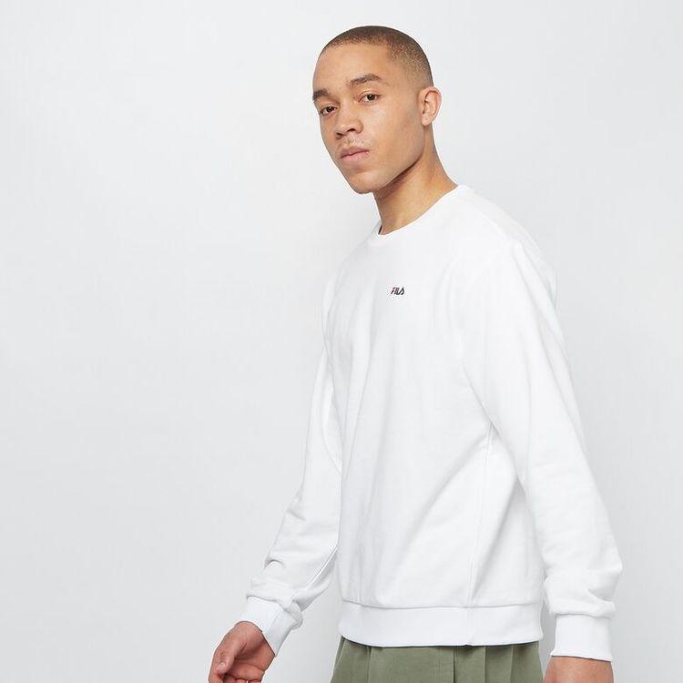 FILA - EFIM Essential Basics Crew neck tröja - Vit