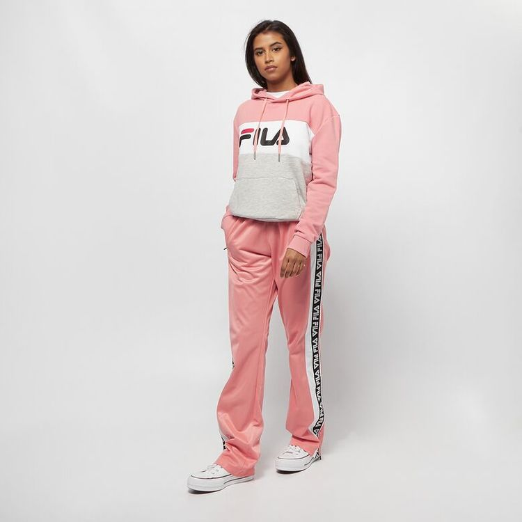 FILA - TAO Taped Foundation Over length Byxor -  Lobster bisque / Laxrosa