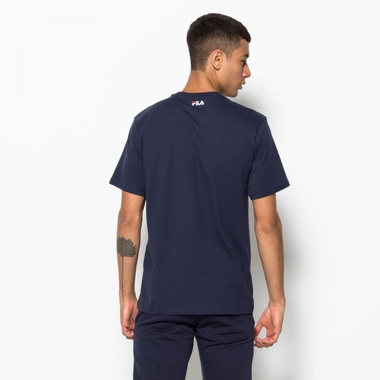 FILA - PURE Basics T-shirt - Black Iris / Marinblå