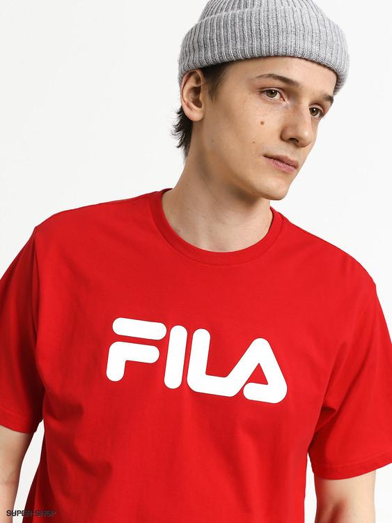FILA - PURE Basics T-shirt - Röd