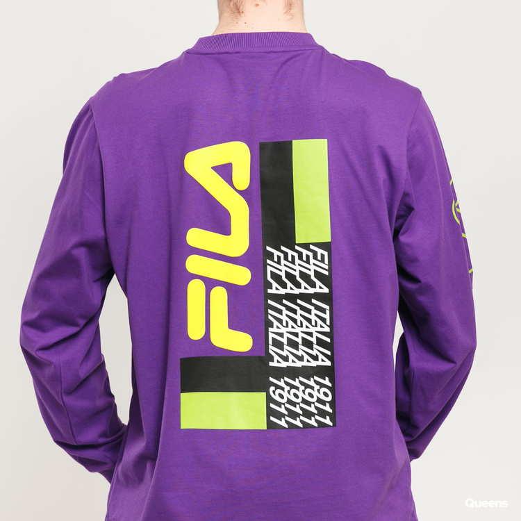 FILA - CALLUM Club Chaos Longsleeve T-shirt - Lila