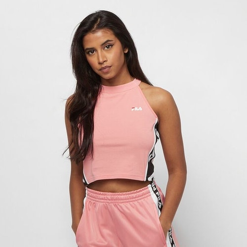 FILA - TAMA Taped Foundation Cropped Top - Lobster bisque / Laxrosa